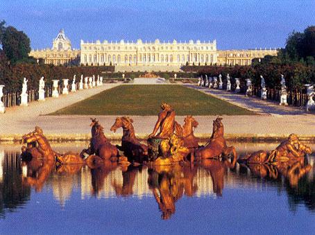 Versailles damals und heute